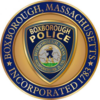 Boxborough Police Department Coin